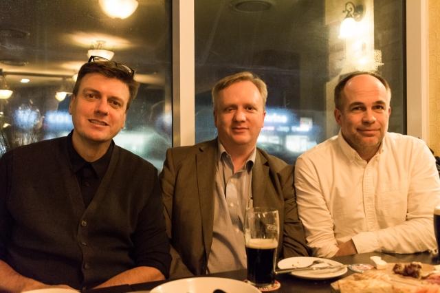 Principals of Diamond Architectural Group Inc. Graham Elvidge, Ernest Goodwin, and Craig Mercs