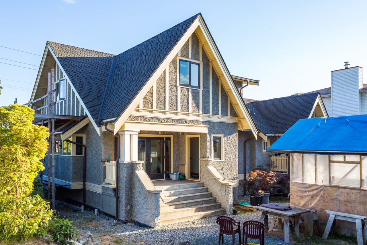 north vancouver craftsman diamond architectural group inc this restoration of a 1925 heritage house included painstaking retention of existing built fabric and careful application of the craftsman idiom to new